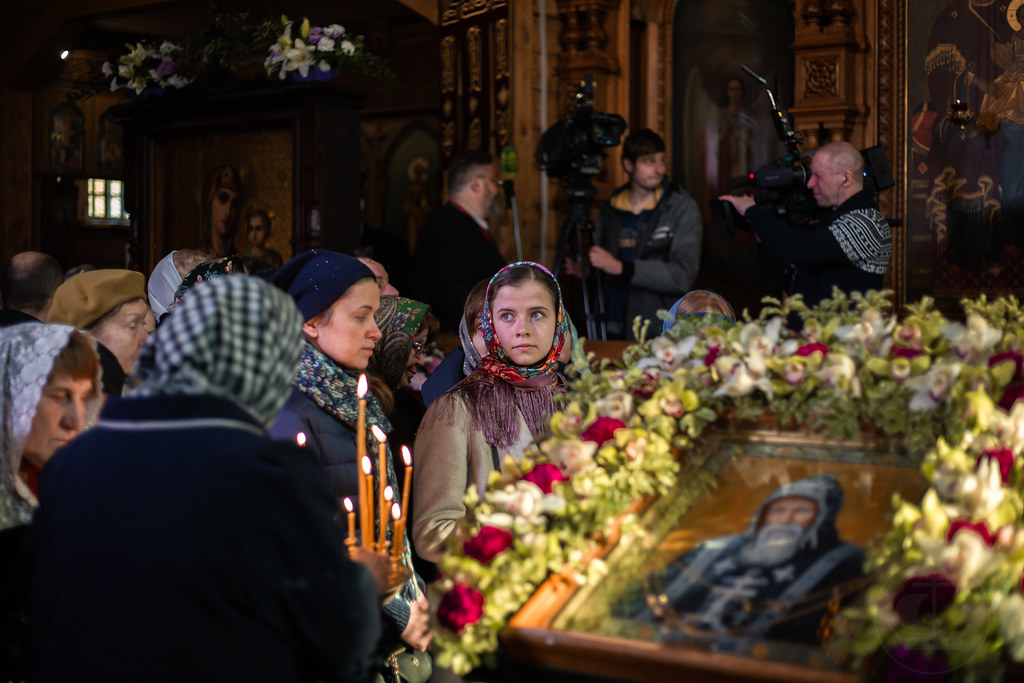 3 апреля 2019, 70-летие преставления преп. Серафима Вырицкого / 3 April 2019, The memeorial day of st. Seraphim of Viritsa