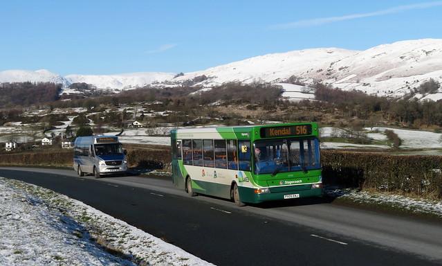 Stagecoach Cumbria 34705 nr Kendal