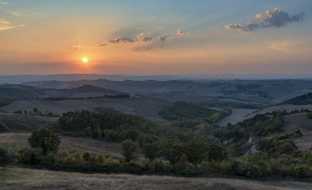 *Le Crete @ sunset*