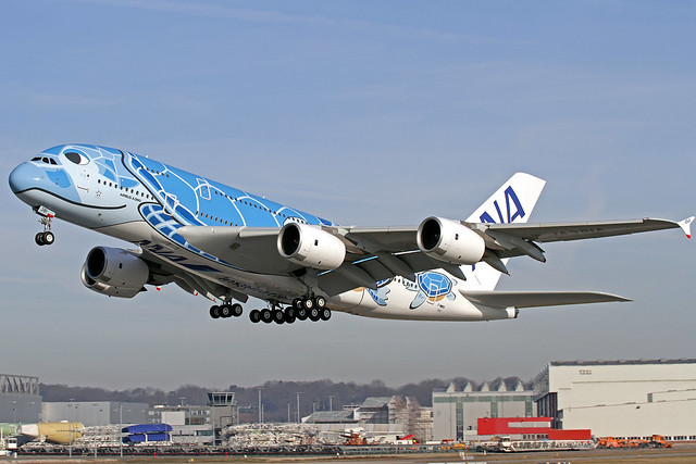 ANA All Nippon Airways Airbus A380-841 F-WWSH (JA381A) XFW 25-02-19