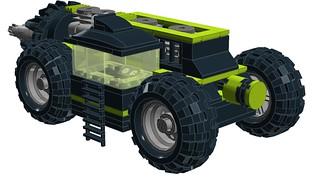 High Intensity Underground Mining Machine - Back