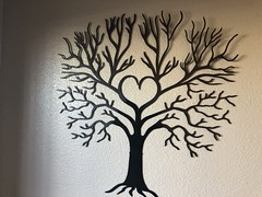 Love Tree Wall Art
