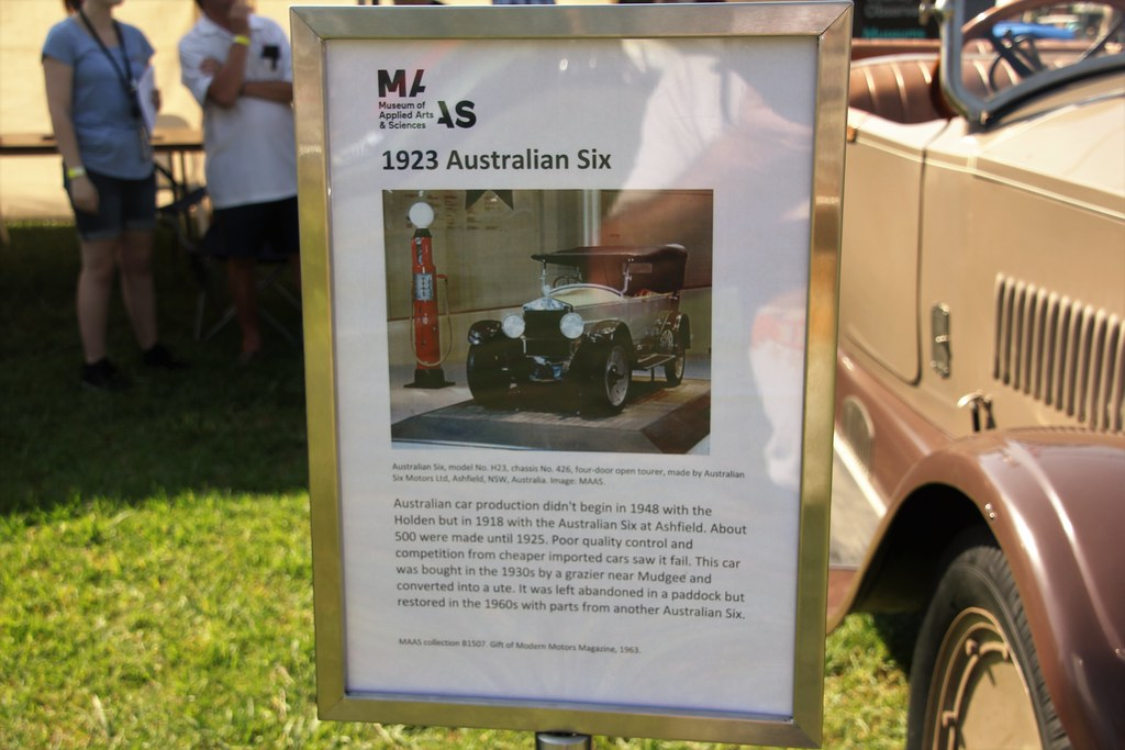 1923 Australian Six tourer | 1923 Australian Six tourer info… | Flickr