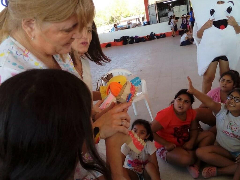 2019-02-12 SALUD: Odontología en las Colonias de Verano