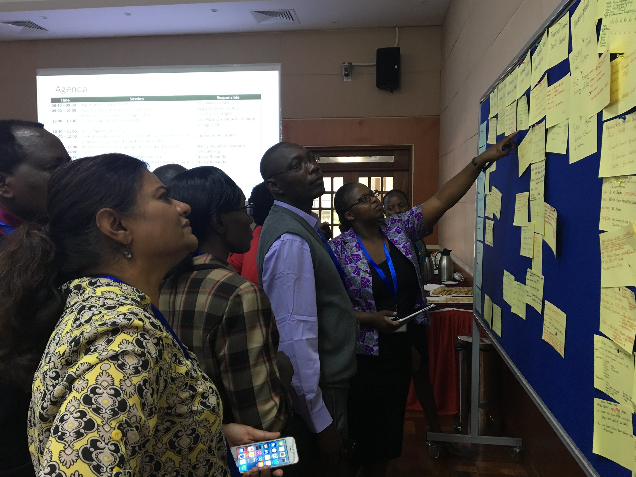 Stock-taking of CSA activities in Kenya