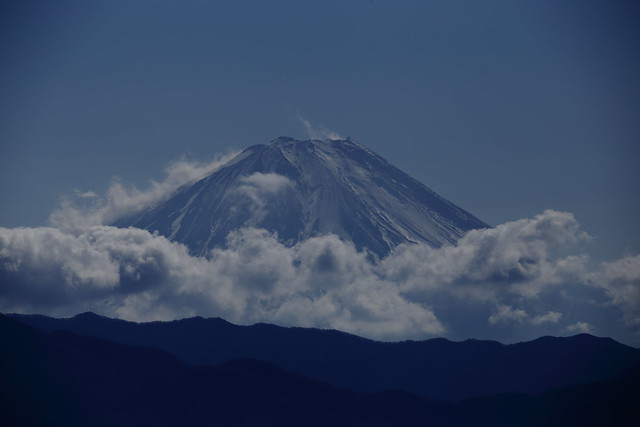 Mt.Fuji from Futaba SA in Yamanashi prefecture