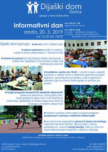 INFODAN_reklama_slo | by Dijaski dom Gorica