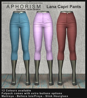!APHORISM! Lana Capri Pants Preview | by Rucy Byron (!APHORISM!)