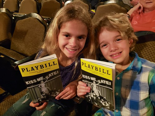 "The Kids At ""Kiss Me, Kate!"" 