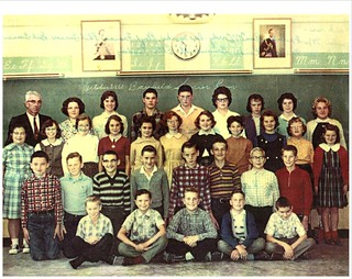 PB17 24A Photo of classmates Sr. room 1961 Mr. W. Fralick | by Bayfield Breeze