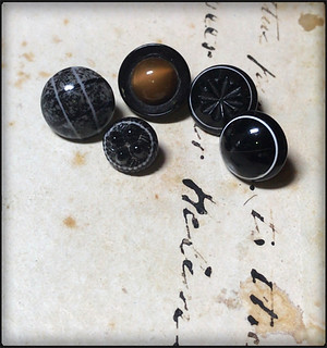 Victorian Glass Buttons in My Collection | by lisby1