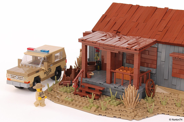 Stranger Things | Sheriff Hopper's Cabin + Chevrolet Blazer