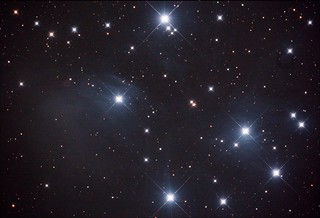 M45 No Flat Stack_10frames_300s_WithDisplayStretch | by BlackWikkett