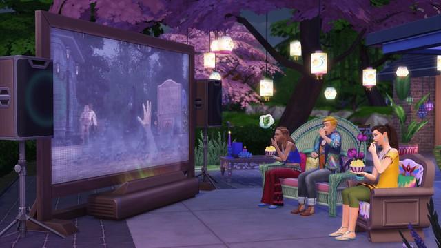 The Sims 4 Noite de Cinema Coleção de Objetos está Chegando aos Consoles