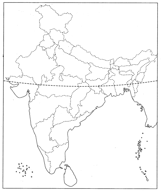Class 10 History Map Work Chapter 3 Nationalism in India Q2
