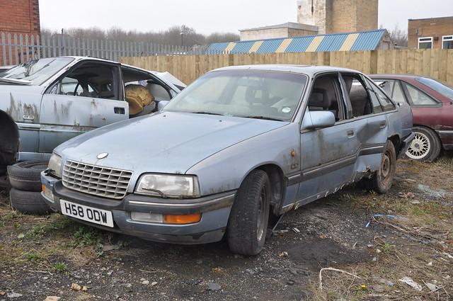 H58 ODW 1990 Vauxhall Senator CD 24V A