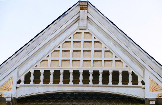 birthday photo walk & dinner,  victorian architecture detail