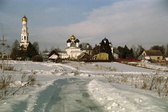 Temple complex in Zavidovo village
