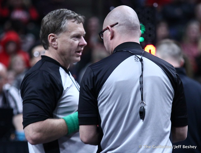 Referee discussion. 190228DJF0214