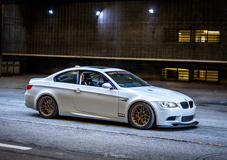 """Lacha's Dinan E92 M3 with 18"""" ARC-8 Wheels in Matte Bronze 