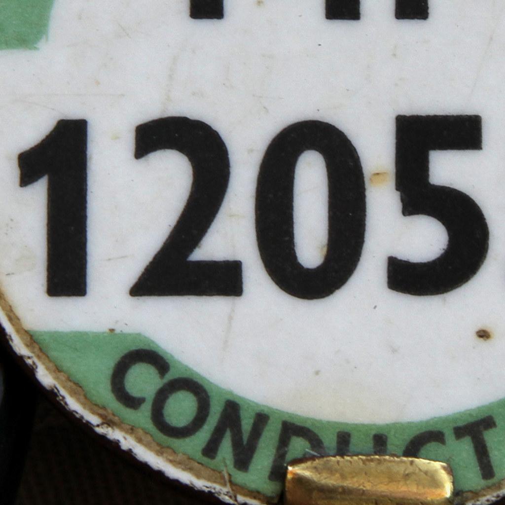 PUBLIC SERVICE VEHICLE CONDUCTOR FF 120559