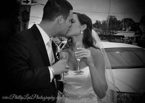 Champagne & a Kiss!