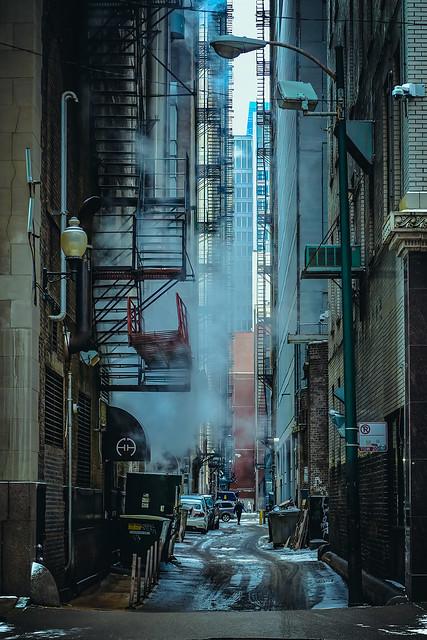 Winter Days in Chicago