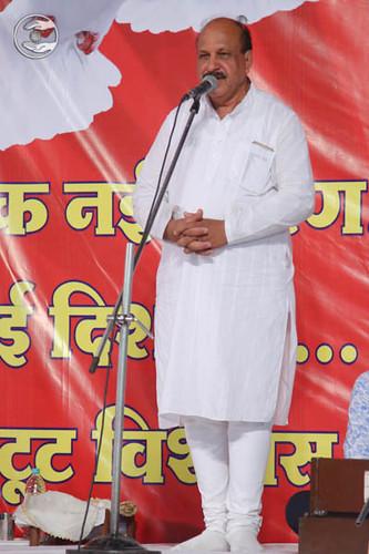 SNM Branch Sanyojak Narain Dass from Sagar MP, expresses his views