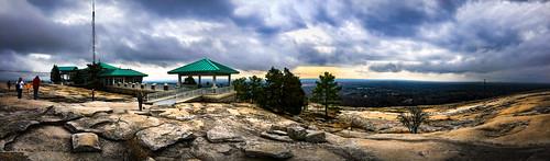 georgia iphone panorama rocks sky scenic landscape