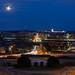 The Worm Moon over Alexandria
