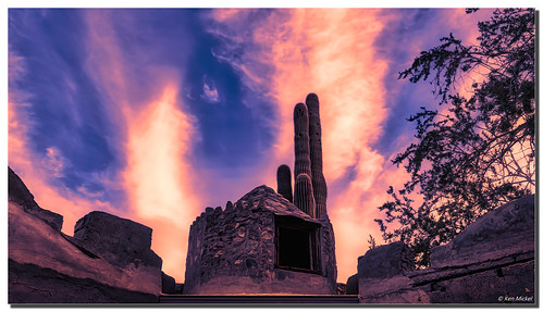 arizona clouds cloudscape cloudy kenmickelphotography landscape outdoors phoenix scorpiongulch sky southmountainpark architecture building buildings dilapidated oldbuilding photography unitedstatesofamerica us