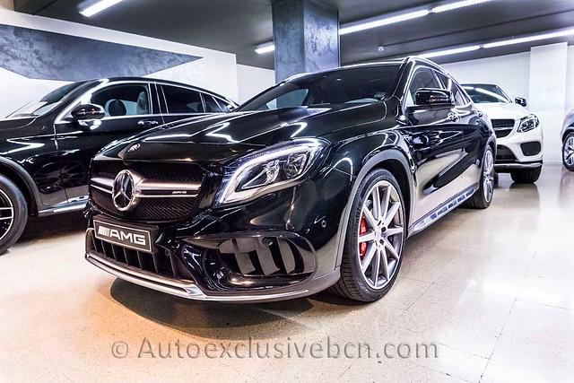 Mercedes GLA 45 AMG   Negro Obsidiana   2018   Auto Exclusive BCN