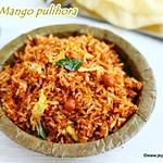 Raw mango Pulihora recipe
