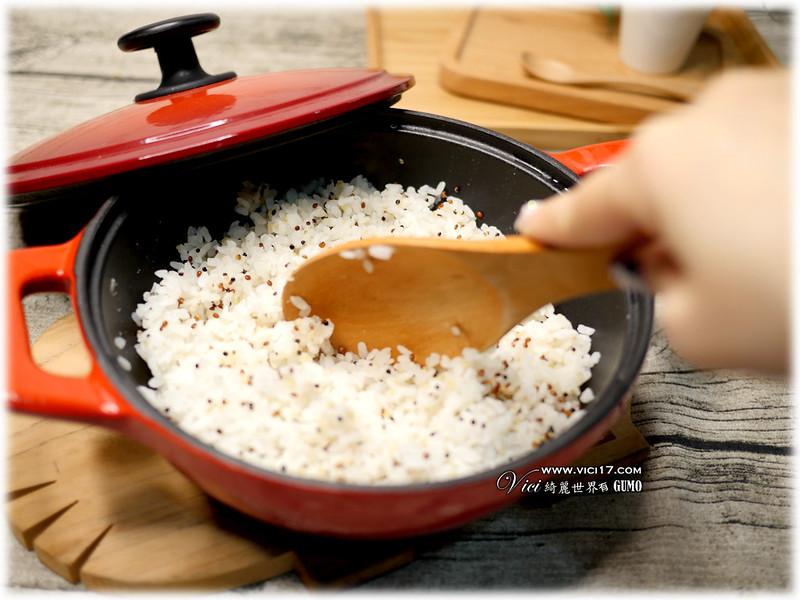 鑄鐵鍋煮飯043
