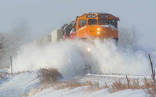 OTV Cleans the Snow   by Mike Vandenberg