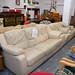 Cream leather suite E250 3+1+1