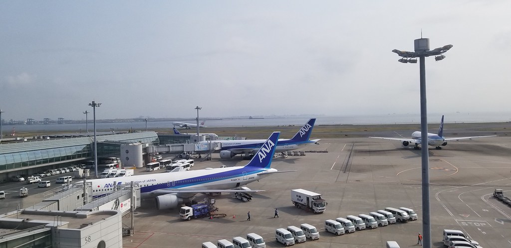 View from the Haneda Excel Hotel Room