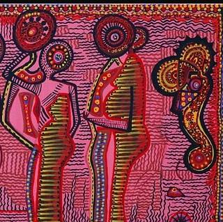 תצוגת ציורים אמנות ישראלית מירית בן נון