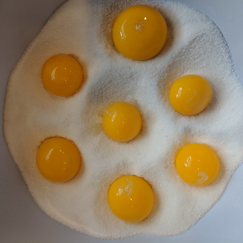 Preserved Egg Yolks 2 | by wishiwerebaking