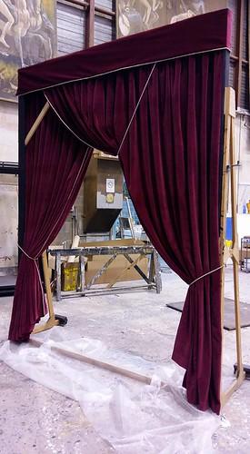 Rideau à l'italienne - Opéra de Bordeaux