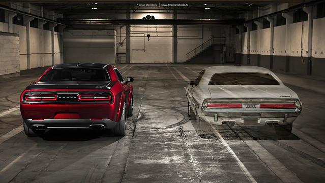 Dodge Challenger Generations