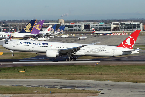 TC-LJH  -  Boeing 777-3F2(ER)  -  Turkish Airlines  -  LHR/EGLL 11-2-19 | by —Plane Martin—