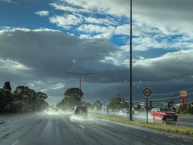 Cantankerous Melbourne weather