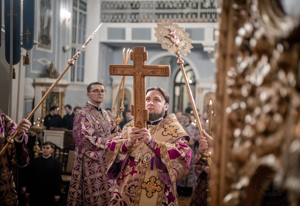 30-31 марта 2019, Неделя 3-я Великого поста, Крестопоклонная / 30-31 March 2019, Third Sunday of Great Lent. Adoration of the Holy Cross