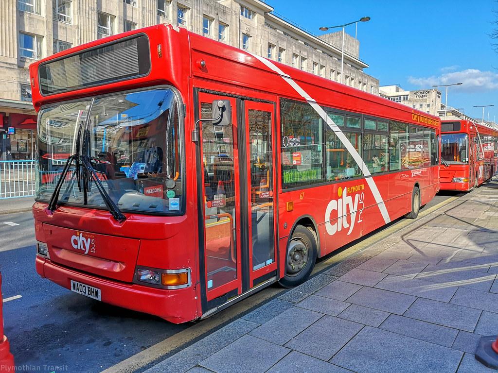 Plymouth Citybus 067 WA03BHW