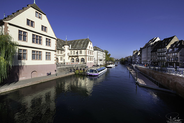 Ready for a boat tour - Strasbourg - Alsace - France