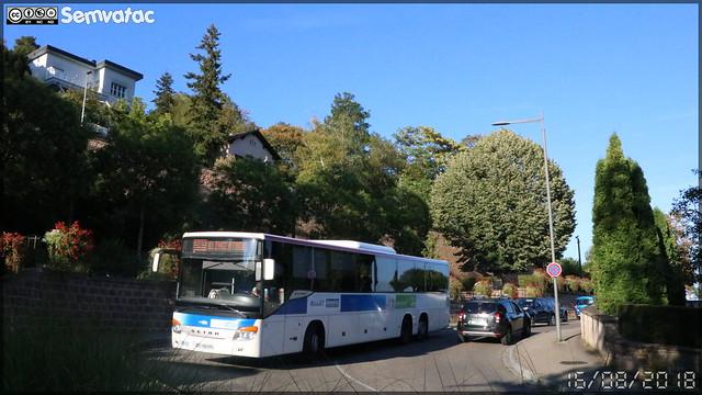 Setra S 417 UL - CTBR (Compagnie des Transports du Bas-Rhin) / Réseau 67 n°271