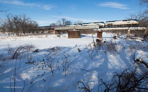 Amtrak Crosses the Border | by Mike Vandenberg