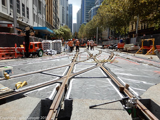 CBD & South East LIght Rail - The 'new' Hay Street Junction (4)