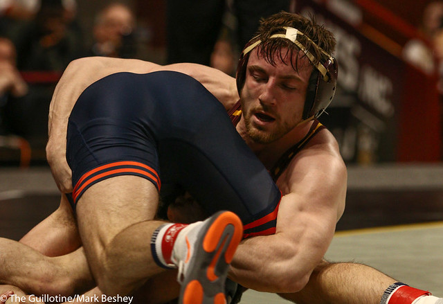 9th Place Carson Brolsma (Minnesota) 2-0 won by decision over Joseph Gunther (Illinois) 1-1 (Dec 3-1)  - 190310cmk0101